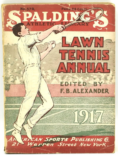 New York: American Sports Publishing Company, 1917. Original Wrappers. Very Good binding. 16mo.; in ...