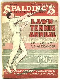 [TENNIS] SPALDING'S LAWN TENNIS ANNUAL 1917