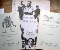 Small Press Poetry of the 1960's A through E [&] F through V, Catalogs 2 & 3-4.