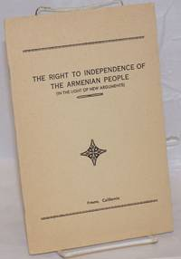 image of The right to independence of the Armenian people (in the light of new arguments)