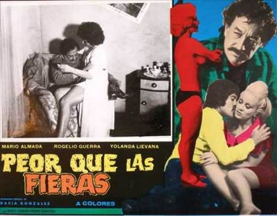 Cinema Poster Movie Cartel Del Cine Mexico Mexicano From