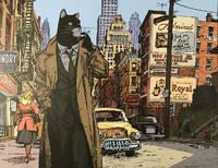 image of Blacksad, New York Detective - Print (Signed)