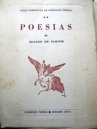 image of Obras Completas de Fernando Pessoa. II. Poesias de Álvaro de Campos.