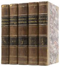 Bibliotheca Hulthemiana ou catalogue méthodique de la riche et précieuse collection de livres et de manuscrits délaissés par M. Ch. Van Hulthem (...). Ghent,  1836-1837
