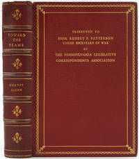 image of Toward the Flame, A War Diary.  Presentation copy, Hon. Robert P. Patterson, Under Secretary of War