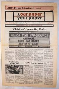 image of Our Paper, Your Paper; the gay family paper of the Santa Clara Valley; vol. 2, #15, July 27, 1983