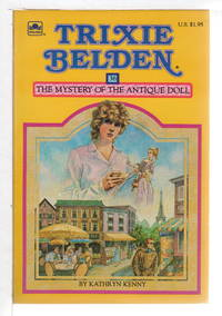 image of TRIXIE BELDEN: THE MYSTERY OF THE ANTIQUE DOLL, #36.