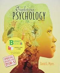 image of Exploring Psychology (Loose Leaf) with DSM5 Udpate & LaunchPad 6 Month Access Card
