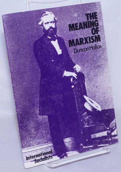 London: Pluto Press for the International Socialist, 1971. Pamphlet. 42p., stapled wraps, 5.25x8.25 ...