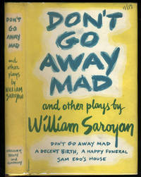 Don't Go Away Mad and Two Other Plays.  Advance copy