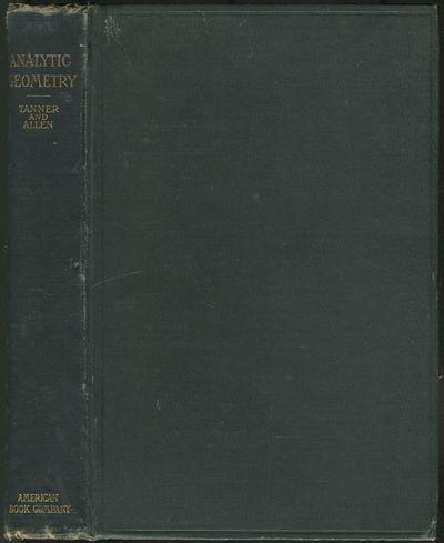 New York: American Book Company, 1898. Hardcover. Near Fine. First edition. Octavo. 418pp. Dark gree...