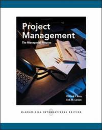 image of Project Management: The Managerial Process