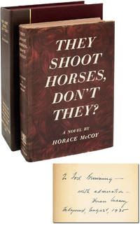 image of They Shoot Horses, Don't They (First Edition, Inscribed to Tod Browning)