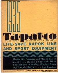 1935 Tapataco Life Preserver and Marine Equipment Trade Catalog