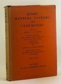 image of Hindu Manners, Customs and Ceremonies
