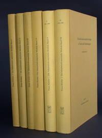 Die babylonisch-assyrische Medizin in Texten und Untersuchungen. I-IV: Keilschrifttexte aus Assur; V-VI: Keilschrifttexte aus Ninive. [SIX VOLUMES].
