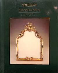 Vente 14 Novembre 1984: European Silver