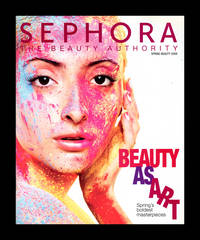 image of Sephora Catalog / Spring Beauty 2008 - Spring Skincare 2008. Two in One, Reversed Catalogs with Reversed Pages. Beauty and Fashion ephemera