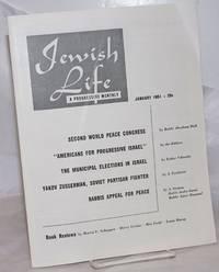 image of Jewish Life [1951, Jan, Vol. 5, No. 3 (51)] A Progressive Monthly