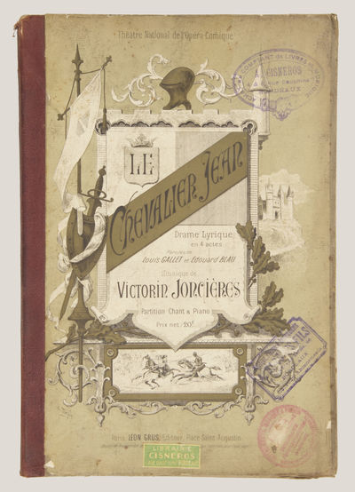 : , 1885. Large octavo. Original publisher's decorative maroon cloth-backed flexible boards with dec...