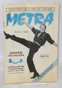 Metra: a bi-weekly magazine serving gay Michigan, Ohio, & Ontario Canada; #100, June 23, 1983: Peter Allen