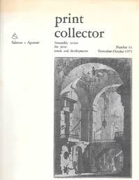 Print Collector ( Bimonthly Review The Print: Trends And Developments ) Number 14 Sept.-Oct. 1975