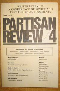 image of Partisan Review 4; 1983 Volume L, Number 4