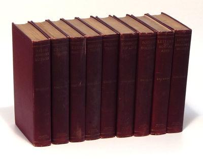 Boston: Houghton Mifflin, 1903 - 1904. Hardcover. Very good. Octavo (19.5 cm). Red cloth boards, wit...