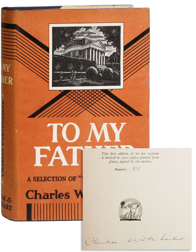 New York: Farrar & Rinehart, 1936. First Edition. Octavo. Blue cloth boards, stamped in orange on sp...