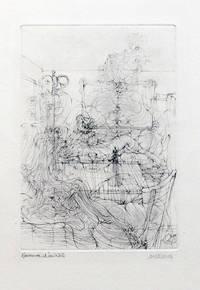 [Gravure] Frontispice pour Le Con d'Irène [épreuve d'artiste signée]
