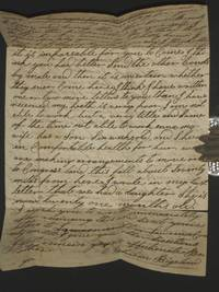 image of Pre-Conversion Letter By Brigham Young's (Twice-over) Future Father-in-Law