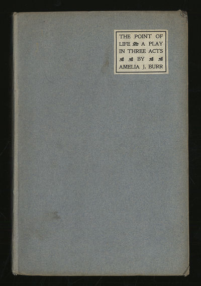 Englewood, New Jersey: The Hillside Press, 1907. Hardcover. Near Fine. First edition. Papercovered b...