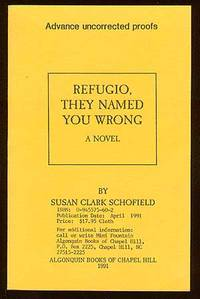 Chapel Hill: Algonquin Books, 1991. Softcover. Fine. First edition. Uncorrected Proof. Fine in wrapp...