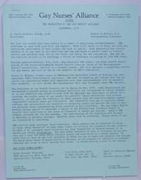 image of Signal: the newsletter of the Gay Nurses' Alliance [newsletter] September 1977