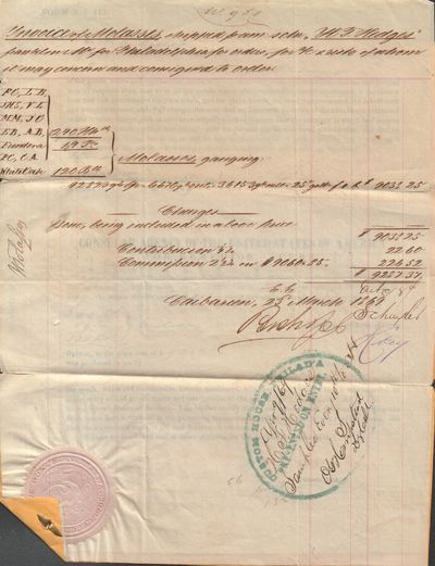 Archive of Four Customs Documents...