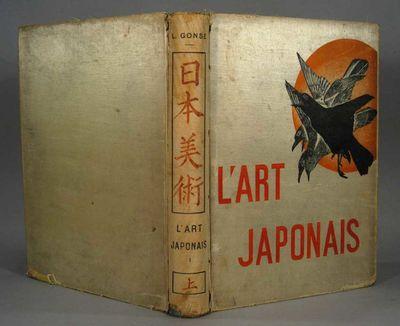 1883. GONSE, Louis. L'ART JAPONAIS. Paris: A. Quantin, 1883. 2 volumes, folio. No. 274 of 1400 copie...
