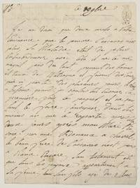 image of Interesting Autograph Letter, in French with translation, (apparently a French army officer in the French Revolutionary period or during the Peace of Amiens)