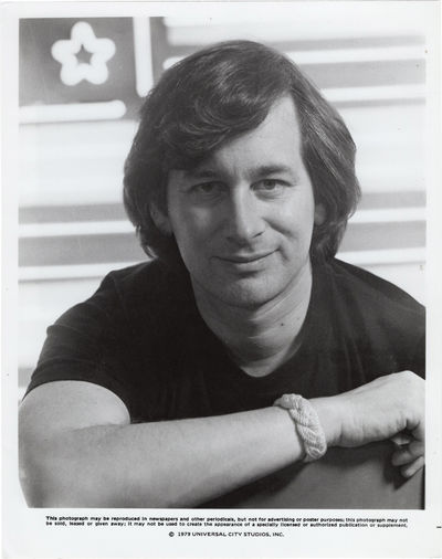 N.p.: N.p., 1979. Original studio still photograph of Steven Spielberg, issued for the release of th...