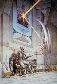 Starwatcher L'Etoile - Print by Moebius (Jean Giraud) - 1993 - from Print Matters (SKU: MoebiusSW0XNS)