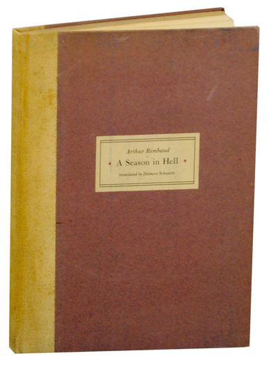 Norfolk, CT: New Directions, 1939. First edition. Hardcover. First printing of 750 copies. Rimbaud's...