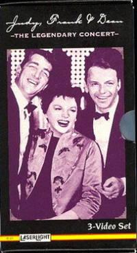Judy Garland Collection (The Best of Judy Garland, Judy Garland and Friends, Judy Frank & Dean - The Legendary Concert) 3 VHS Box Set