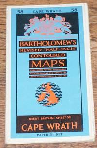 "Cape Wrath - Bartholomew's Revised ""Half-Inch"" Contoured Maps, Great Britain Sheet 58"