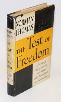 The test of freedom by Thomas, Norman - 1954