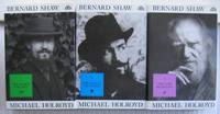 """Bernard Shaw, (The Life of George Bernard Shaw) Vol. 1: 1856-1898 - The Search for Love; Vol 2: 1898-1918 - The Pursuit of Power; Vol 3; 1918-1950 - The Lure of Fantasy; -(vol 1, 2, & 3 book set of """"Bernard Shaw"""")- -(hard covers with dust jackets)-"""