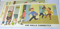 Walt Disney Study Prints: No. 103, School Safety Set (Complete)