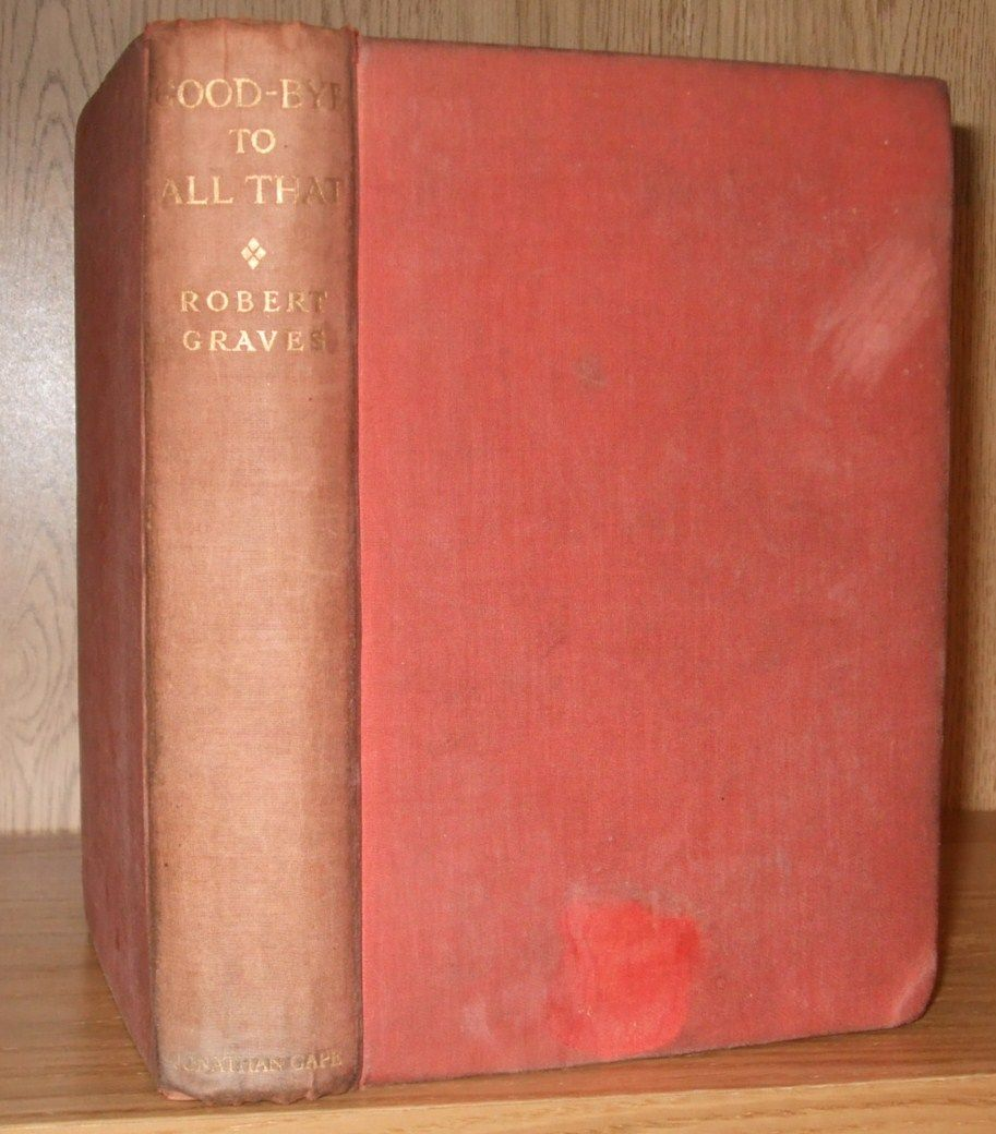 robert graves goodbye to all that pdf