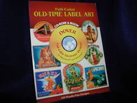 image of Full-Color Old-Time Label Art: CD-ROM and Book