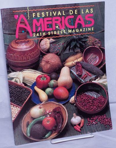 San Francisco: the Festival Magazine, 1989. Magazine. 40p., 8.5x11 inches, ads, services, resources,...