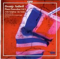 image of Piano Concertos 1 & 2; A Jazz Symphony; Jazz Sonata; more [COMPACT DISC]
