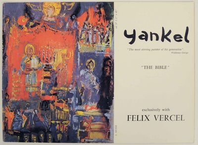 New York: Felix Vercel, 1972. First edition. Oblong softcover. 8 pages. Exhibition catalog for a sho...